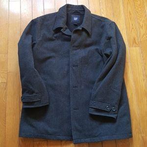 Gap Mens XL Dark Gray Pea coat